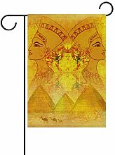 XiangHeFu Garten-Flagge alte ägyptische Königin