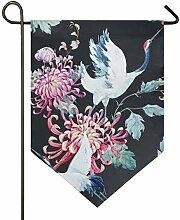 XiangHeFu Garten Flagge Kran im japanischen Stil