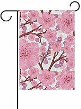XiangHeFu Garten-Flagge, nahtloses Muster, Baum,