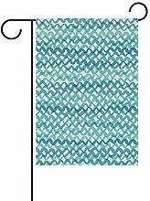 XiangHeFu Garten-Flagge, unsichtbar, 30,5 x 45,7