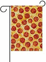 XiangHeFu Garten-Flagge Wurst Pizza Oberfläche 28