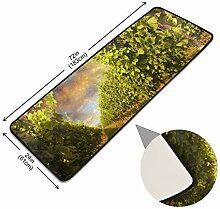 XiangHeFu Pads Bodenfläche Teppich Weinberg mit