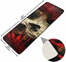 XiangHeFu rutschfeste Rechteck Teppich Teppich