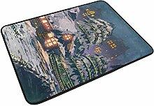 XiangHeFu Teppich, 59,9 x 39,9 cm, Fußmatte,