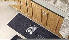 xiangju Küche Fußmatten Lange rutschfeste