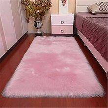 xiangju Kunstpelz Teppich weichen Flauschigen
