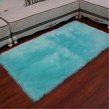 xiangju Superweicher Kunstschaffell Teppich,