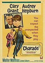 XIANGLE Leinwandplakat Audrey Hepburn Berühmte