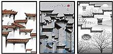 XIANGPEIFBH Wandkunst Abstrakte Kreative