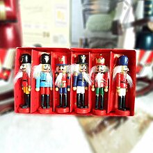 Xiangpian183 6er Set Weihnachtsdekoration