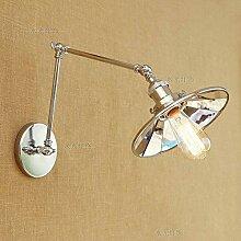 Xiao Fan ▶ Vintage Wandlampe mit verstellbarem