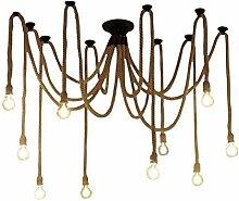 Xiao Yun ☞ 10 Arme Industrie Decke Spinne Lampe