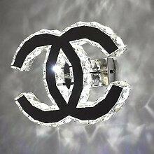 Xiao Yun ☞ LED K9 Kristall Wandleuchte 18W
