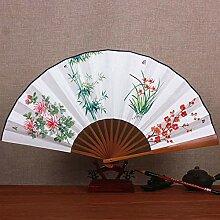 XIAOHAIZI Handfächer,Sommer Bambus Fan