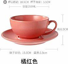 xiaojiangqi Einfache Kaffeetasse Geschirr Set