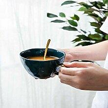 xiaojiangqi Kreative Kaffeetasse Aus Porzellan Mit