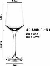 xiaojiangqi Transparentes Kristallglas Weinglas