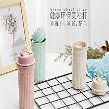 xiaojiangqi Weizenstrohbecher Trinkbecher Daily