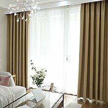 xiaojingLY Blackout Vorhänge Drapieren Einfache