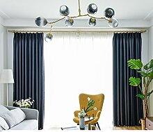 xiaojingLY Blackout vorhänge Drapieren Modern