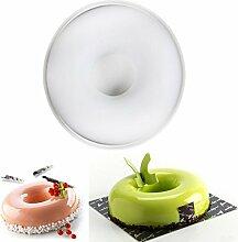 Xiaolanwelc Rund Silikon Donut Form Kuchen