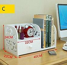 XIAOLI& Creative Desktop Kleines Bücherregal