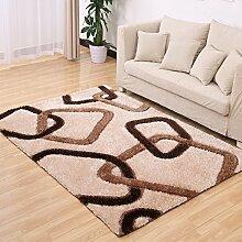 XIAOLIN Teppiche Matten Dickere Stretch Silk