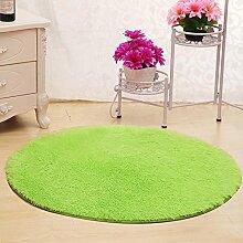 XIAOLIN Teppiche Matten Nettes rundes Bett mit Teppich Teppich Fitness Yoga Wiege Computer Stuhl Lounge Wohnzimmer Schlafzimmer Teppich (Farbe, Größe optional) Super weicher Teppich ( Farbe : #8 , größe : 140cm )
