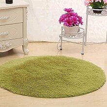 XIAOLIN Teppiche Matten Nettes rundes Bett mit Teppich Teppich Fitness Yoga Wiege Computer Stuhl Lounge Wohnzimmer Schlafzimmer Teppich (Farbe, Größe optional) Super weicher Teppich ( Farbe : #3 , größe : 140cm )