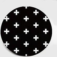 XIAOLIN Teppiche Matten Polyester Runde Kreativer