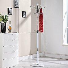 XIAOLVSHANGHANG Coss Continental Dreh Boden Kleiderbügel Metall Kleiderständer Europäischen Kleiderbügel Kreative Schlafzimmer Regal Klassische Kleiderbügel (Farbe : A)
