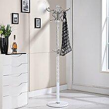 XIAOLVSHANGHANG Coss Continental Dreh Boden Kleiderbügel Metall Kleiderständer Europäischen Kleiderbügel Kreative Schlafzimmer Regal Klassische Kleiderbügel (Farbe : S)