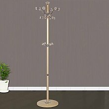 XIAOLVSHANGHANG COSS European-style Rotierenden Metall Kleiderständer Boden Schlafzimmer Kleiderbügel Einfache Montage Racks Klassische Kleiderbügel (design : B)