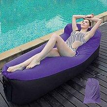 XIAOMEI Aufblasbare Liege Air Sofa Tragbarer
