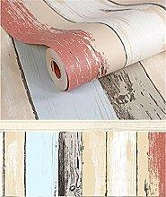 XIAOMEI Color Stripes Strukturierte Tapete Umweltschutz PVC Tapete für Wohnzimmer Schlafzimmer Study Room Eine Rolle Wallpaper 53 * 1000cm , 9160