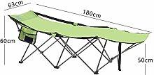 XIAOMEI Faltstuhl Camping Bett Tragbarer Outdoor