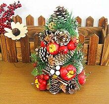 XIAOMEI Luxus Desktop-Weihnachtsbaum Künstliche