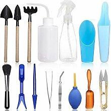 XiaoOu Garten Handwerkzeuge Set 15 Stück