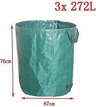 XiaoOu Garten Müllsack Großer Außenkamin