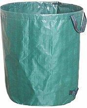 XiaoOu Gartenmüllsack 120L Großraum-Gartentasche