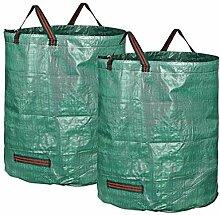 XiaoOu Gartensack für Grasblätter 272L Müllsack