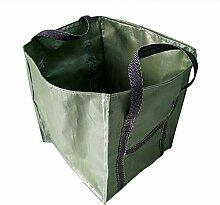 XiaoOu Gartentasche Sack Leaf Hausgarten Müllsack