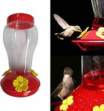 XiaoOu Kolibri Feeder Kunststoff Weithals Kolibri