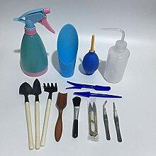 XiaoOu Pflanzen Werkzeuge 14 Stück Mini Garten