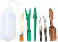 XiaoOu Pflanzen Werkzeuge 7St. Sukkulente Pflanzen