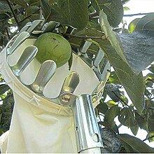 XiaoOu Pflückwerkzeuge Silber Obstpflücker