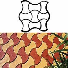 XiaoOu Steinformen für Zement 40 Betonformen Path