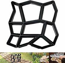 XiaoOu Steinformen für Zement Bodenpfadform