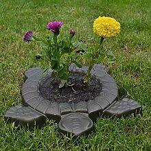 XiaoOu Steinformen für Zement Pflanzen von Blumen