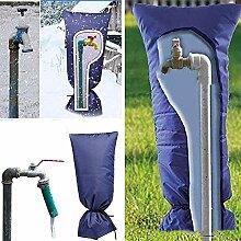 XiaoOu Wasserhahn Frostschutzabdeckung Blau